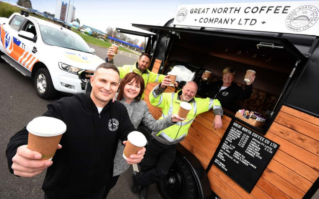 Entrepreneur Serving Up Caffeine Fix to Commuters with First Tyne Tunnel Coffee Bar