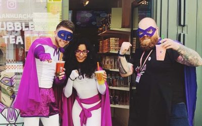 Bubble Tea Entrepreneurs Bring Superhero Style to STACK Newcastle