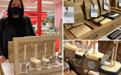 Artisan soap cleans up with slot in Fenwick Newcastle